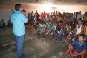 Internos de la Cárcel El Dorado, estado Bolívar escuchan las buenas nuevas