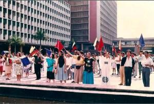 Primer Clamor Nacional de Oración realizado en Caracas, Distrito Capital / AC