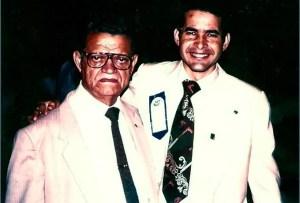 Armando Campos (der.) y Germán Núñez (izq.) durante eventos de oración en el país / AC