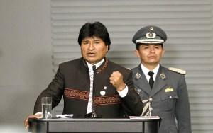 """La declaración de Evo Morales como """"Estado terrorista"""" a Israel, es más una postura eminentemente pro Palestina / EFE"""