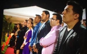 Pastores y líderes voceros de la Gran Vigilia de Oración.