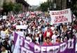 Grupos violentos atacaron la Marcha por Jesús en Chile