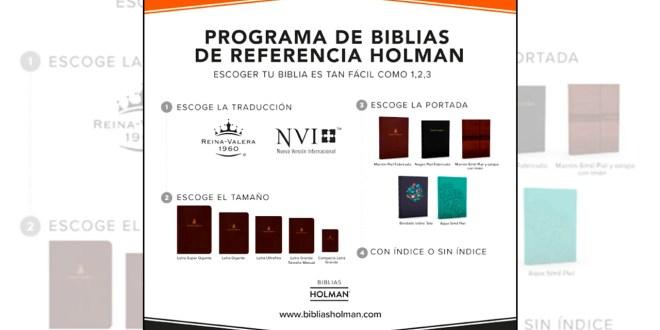"""LifeWay amplió """"Programa de Biblias de Referencia Holman"""""""