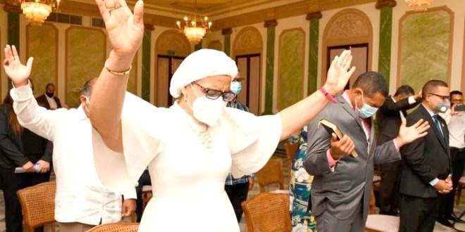 Proclaman 'Dominicana Nación de Dios' en el Palacio Nacional