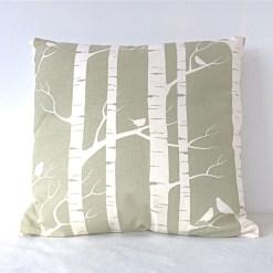 Birch Moss Organic Cushion