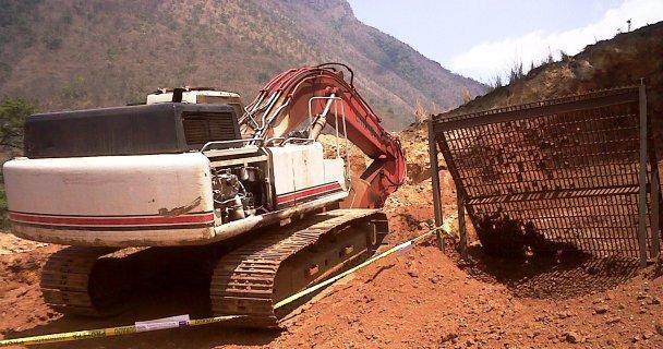 Foto: Profepa / Clausura a mina ilegal en Manantlán