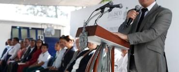 Jorge Aristóteles Sandoval en el evento de presentación de la propuesta de Ley de Cambio Climático. Imagen: Gobierno de Jalisco