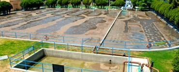 Planta de tratamiento ubicada en el municipio de Chapala, operada por la CEA. Una de las que sí funciona. Foto: CEA