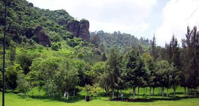 Parque Ecologico Las Peñas en Ciudad Guzmán. Imagen: Ayuntamiento de Ciudad Guzmán