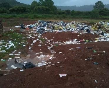 Basurero en Atemajac de Brizuela. Foto cortesía de Custodios del Bosque y Amigos de la Naturaleza