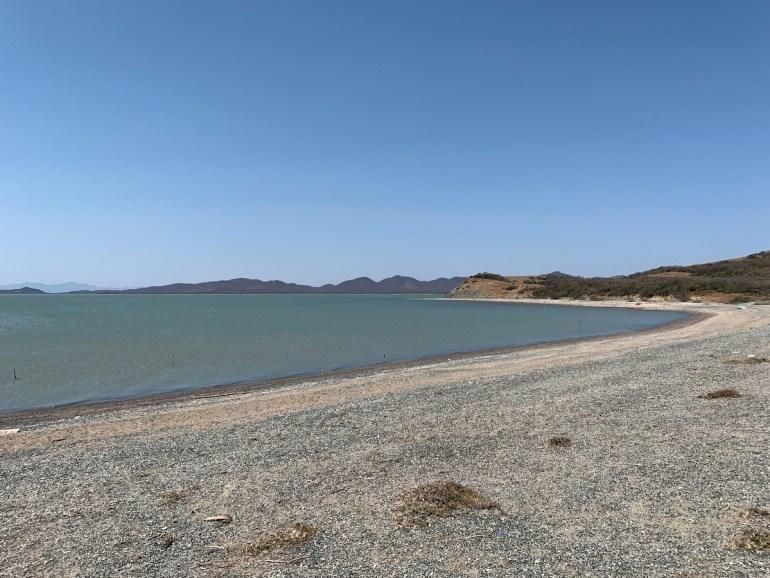 barra natural de Santa Teresa, San Dionisio del Mar