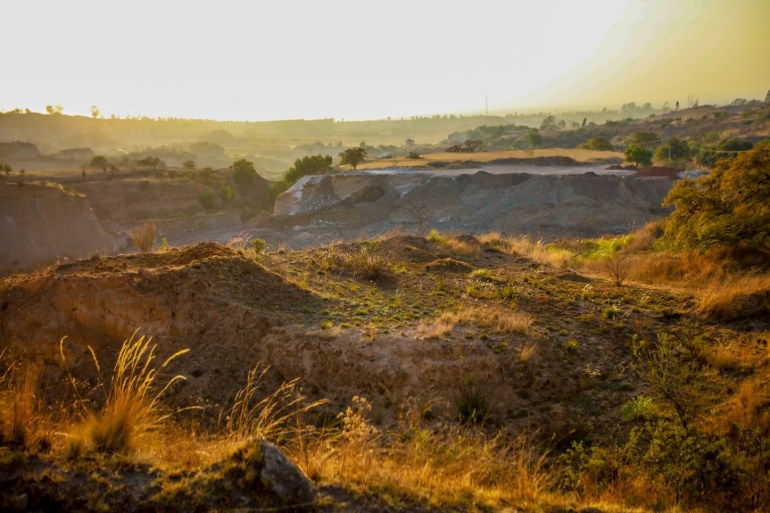 Tiradero de lodos tóxicos en Tlaminc. Foto: Daliri Oropeza