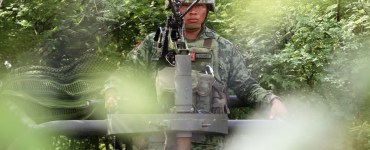 Militares en un bosque. Foto ilustrativa