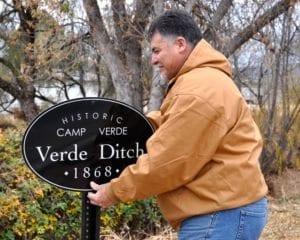 Verde Ditch sign