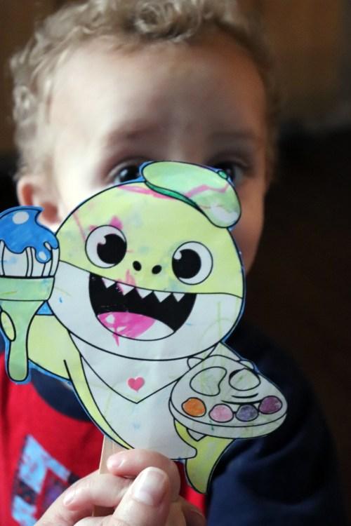 toddler stick puppet craft