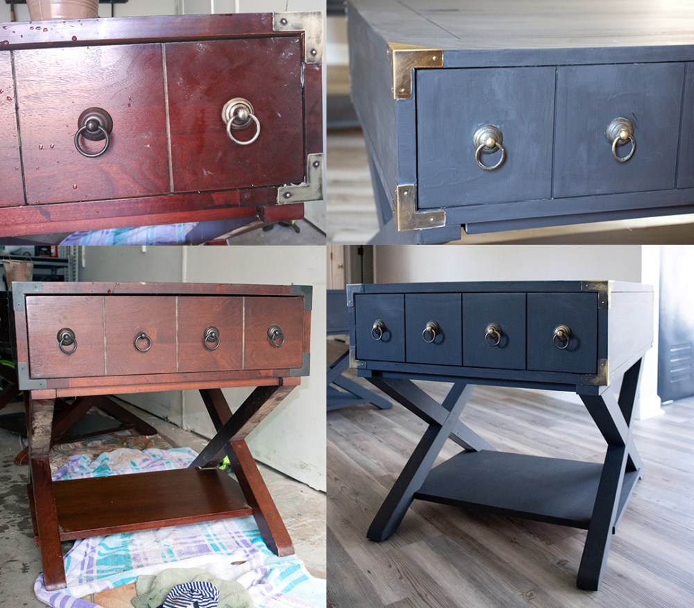 furniture makeover with chalk paint