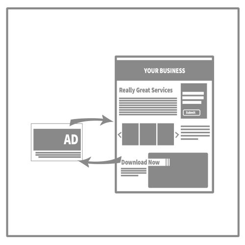 Marketing Campaign Graphic: Retargeting ad