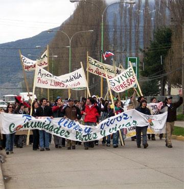 Protestas en Aysén