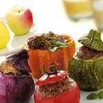 Gratin di Amaranto con Verdure