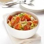 Spaghetti al Pomodoro a Pezzi