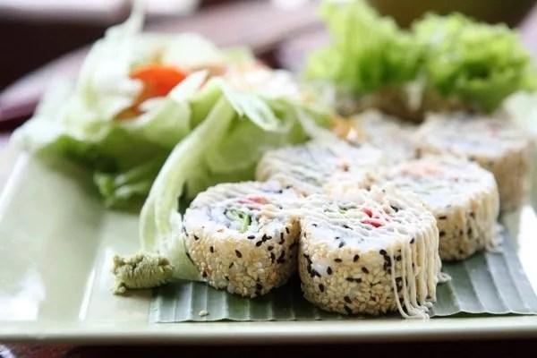 Sushi Vegetariano senza Alghe