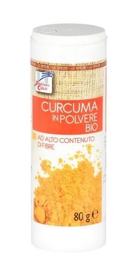 Curcuma in Polvere Bio - Dispenser