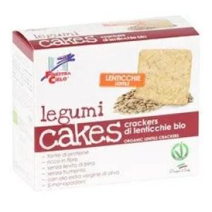 Legumi Cakes - Crackers di Lenticchie