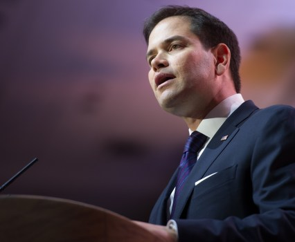 Republicans Will Not Seriously Try to Sell Marco Rubio as a Moderate, Will They?