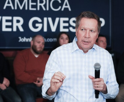 The Kasich Moderation Burlesque