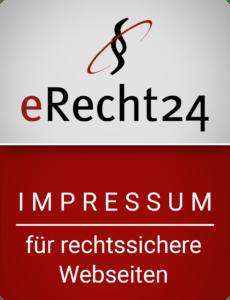 erecht24 siegel impressum rot gross 230x300 - Impressum