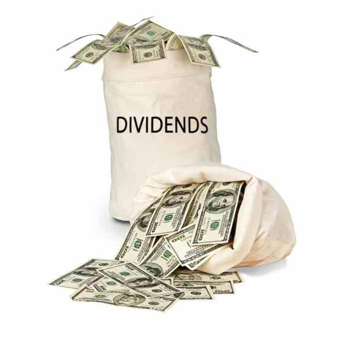 wat is een dividend