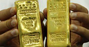 beleg in goud in onzekere tijden