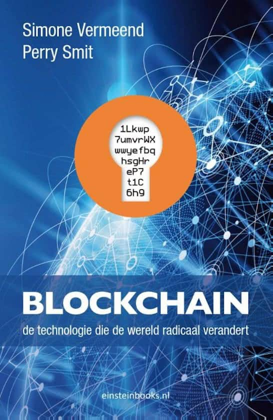Boek over bitcoin en blockchain