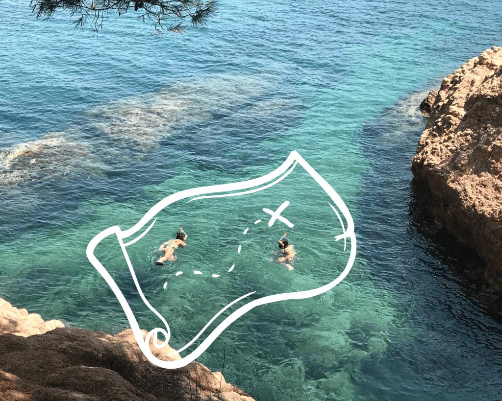 La leyenda del capitán Barba negra snorkel