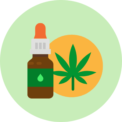 Cannabis and Medication Substitutes Icon
