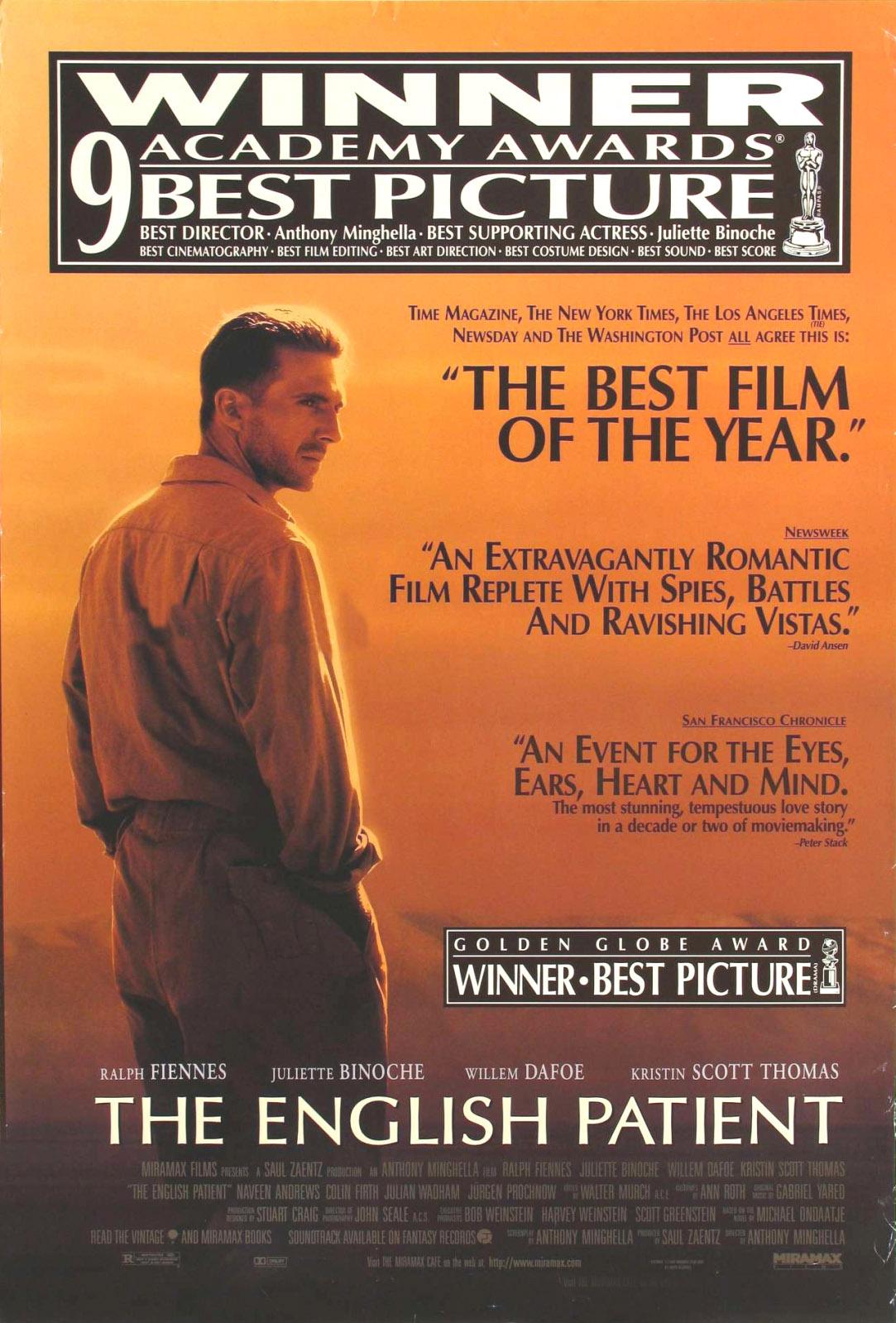 The English Patient 1996 Verdoux