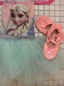 Dancing queen kjole og sko
