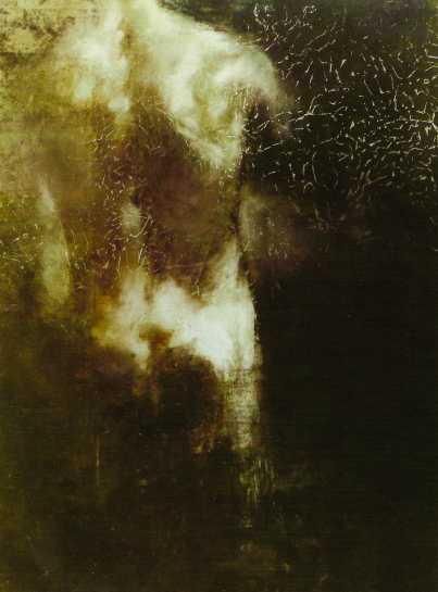 Cím nélkül, 1991, vegyes technika, 100x70 cm