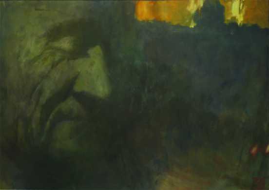 Az aranykor vége, 100x140 cm, 2002