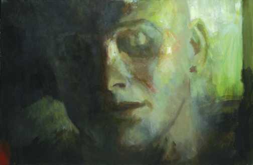 Kamasz, olaj, vászon, 80x120 cm, 2007