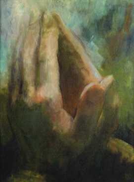 Szentély, olaj, vászon, 70x50 cm, 2007