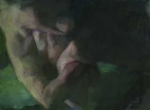Visszavezető, olaj, vászon, 140x190 cm, 2008
