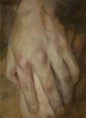 Moira, olaj, vászon, 100x70 cm