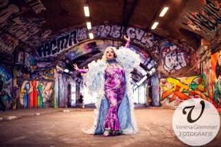 Porträt der Queen of Queerlesque Rubyyy Jones