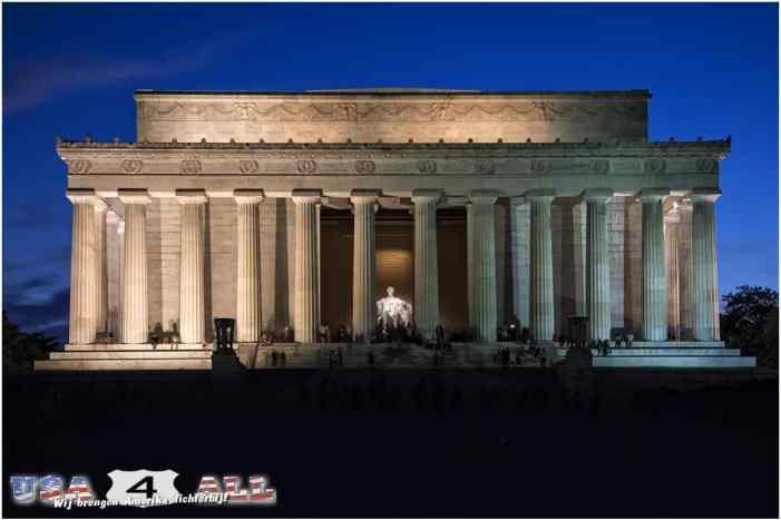 Lincoln Memorial - South USA 2016