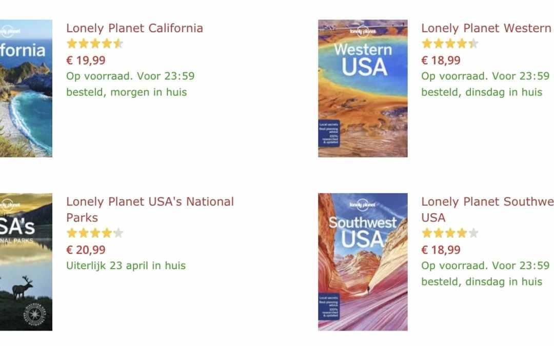 Reisgids Amerika & meer – Waan je weg in de USA!
