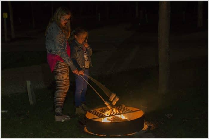 Camperreis Campfire