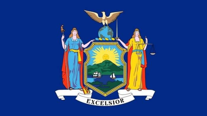 De vlag van New York