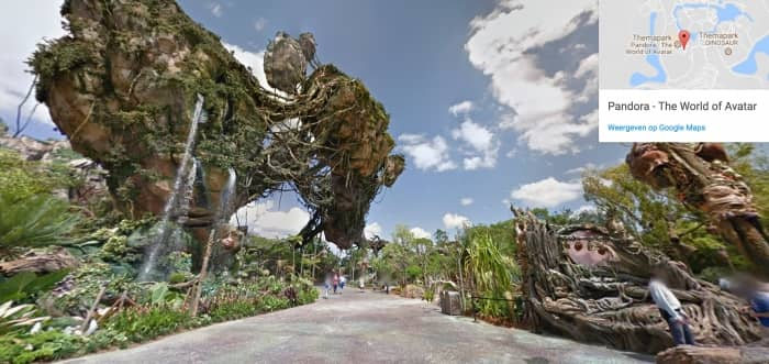 Disneyworld Florida virtueel - Pandora
