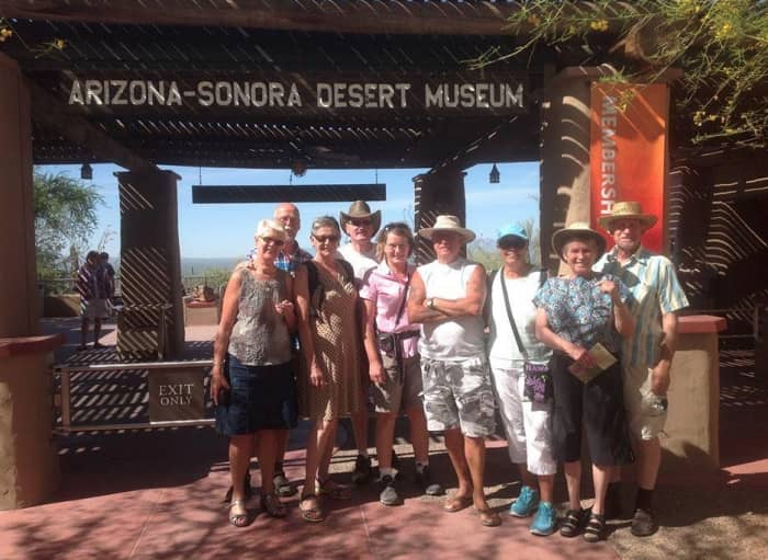 Dutch party in the Desert